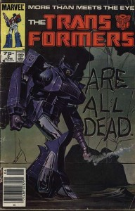 Cover of Transformers Issue #5